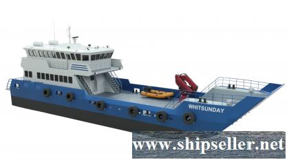 MOC Shipyards 30m Whitsundays Series Landing Craft