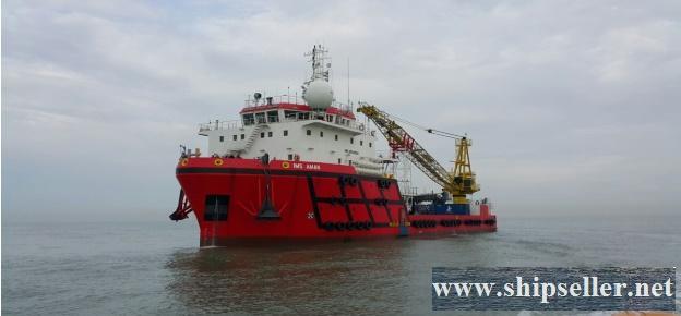 Bintulu offshore, Malaysia, Supply Vessel For Sale