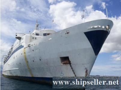 Scrap Cruise Ship For Sale LDT 7.604