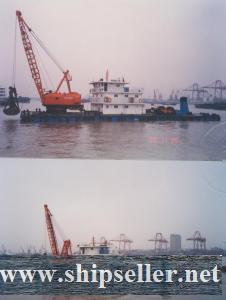 sell japan skk grab dredger 8cbm clamshell dredger 8m3 cheap