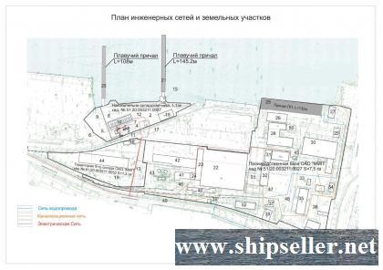 261. Murmansk. Port territory areas.