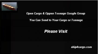 Open Cargo & Open Tonnage