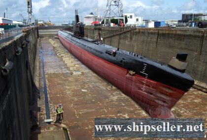 REBUILT 2016* - Project 633 Romeo Diesel Submarine (Undersea Boat UB, Demilitarized) for Sale